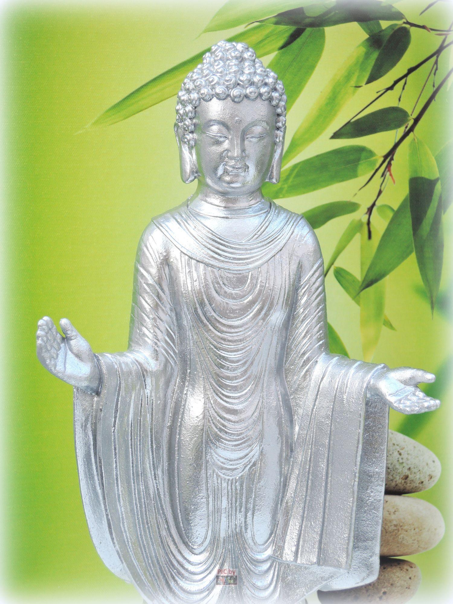 herzdame figur skulptur 30cm buddha feng shui stehend. Black Bedroom Furniture Sets. Home Design Ideas