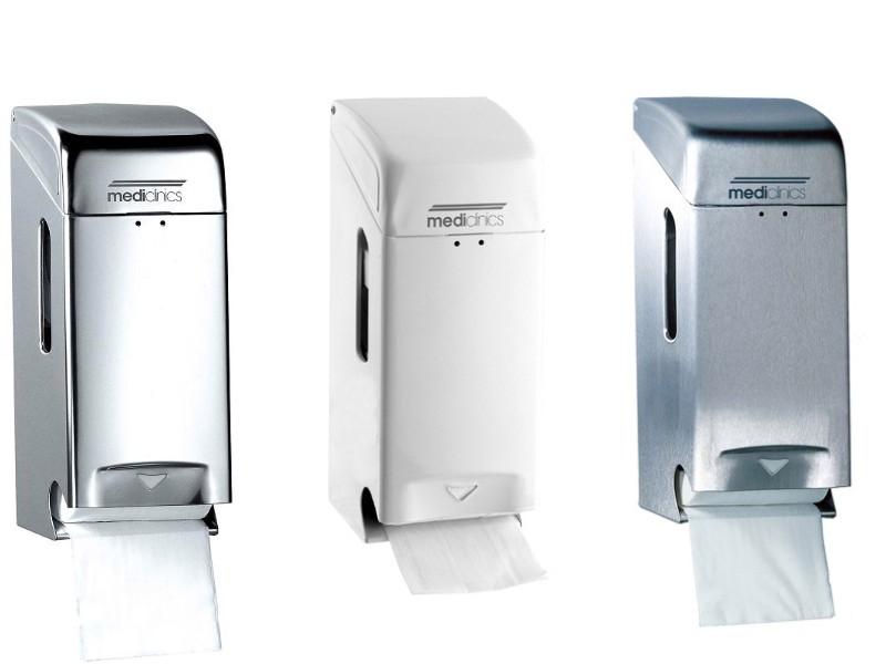 mediclinics toilettenpapierspender wc papierspender f r 2 standartrollen. Black Bedroom Furniture Sets. Home Design Ideas