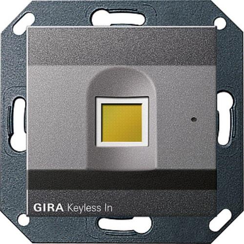 gira 260728 gira keyless in fingerprint system 55. Black Bedroom Furniture Sets. Home Design Ideas