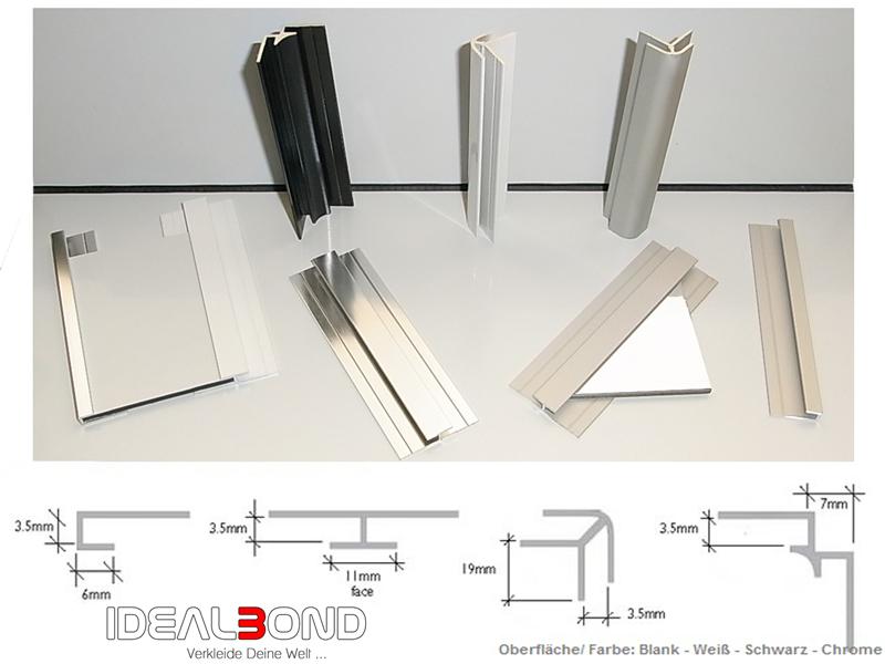 aluverbundplatte weiss 3mm 0 2mm verbundplatte aus. Black Bedroom Furniture Sets. Home Design Ideas