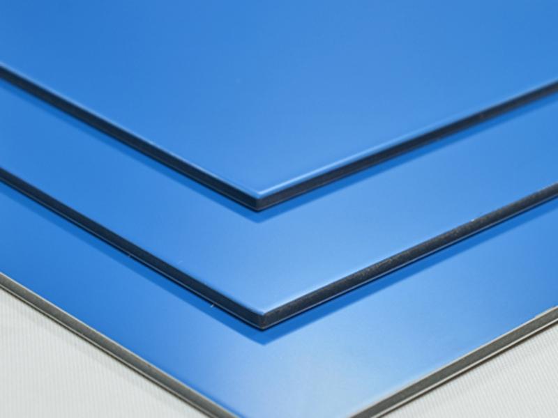 aluverbundplatte blau 3mm 0 2mm aluminium verbundplatte. Black Bedroom Furniture Sets. Home Design Ideas