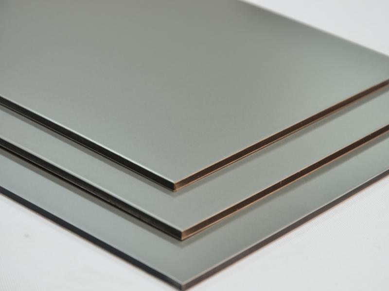 Aluverbundplatte silber ral9006 3mm verbundplatte aus for Ral 9006 fenster