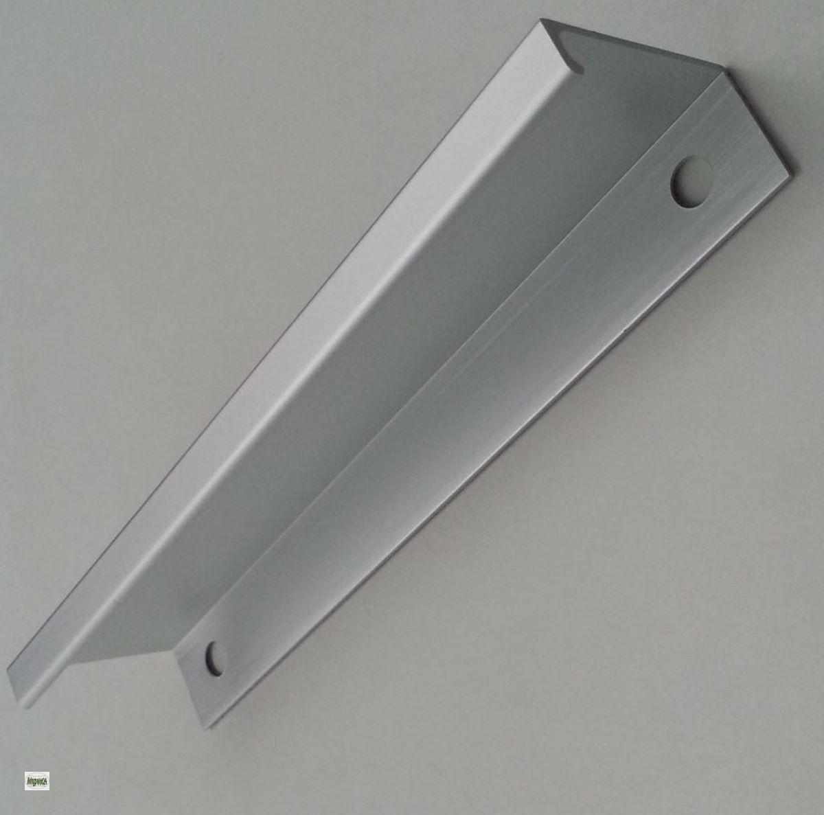 poign e de meubles ba 128mm tiroirs poign es profil aluminium mat cuisine n ebay. Black Bedroom Furniture Sets. Home Design Ideas