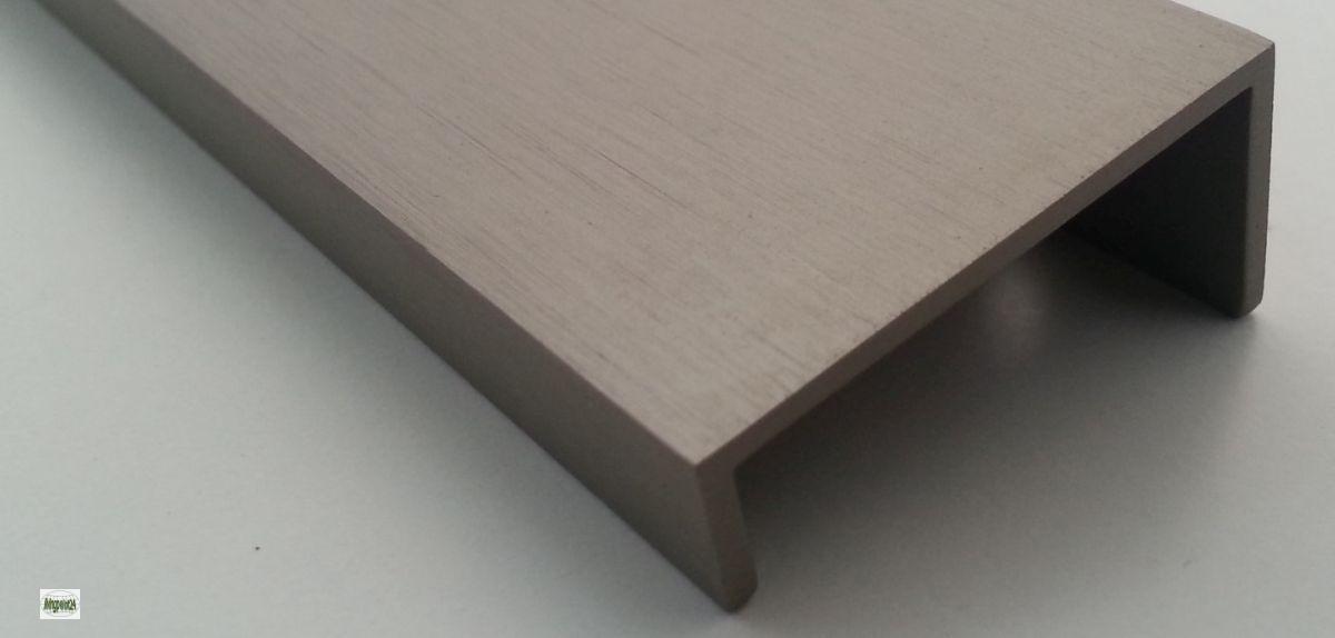 Griffmulde ba 320mm schubladengriffe edelstahl geb rstet for Schubladengriffe edelstahl