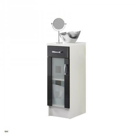 unterschrank 30x80cm badschrank badezimmerschrank stehende montage schrank 5406 ebay. Black Bedroom Furniture Sets. Home Design Ideas