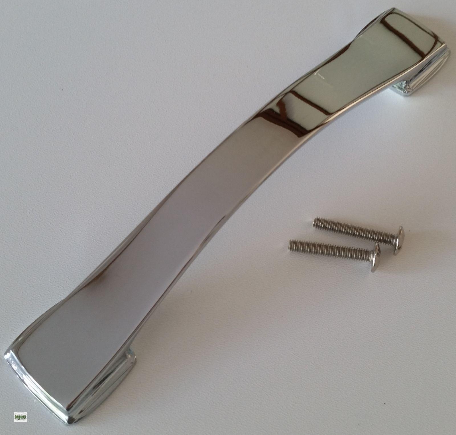 Maniglie per mobili BA 128 e 160 mm Cucina maniglie cromate Maniglia ...