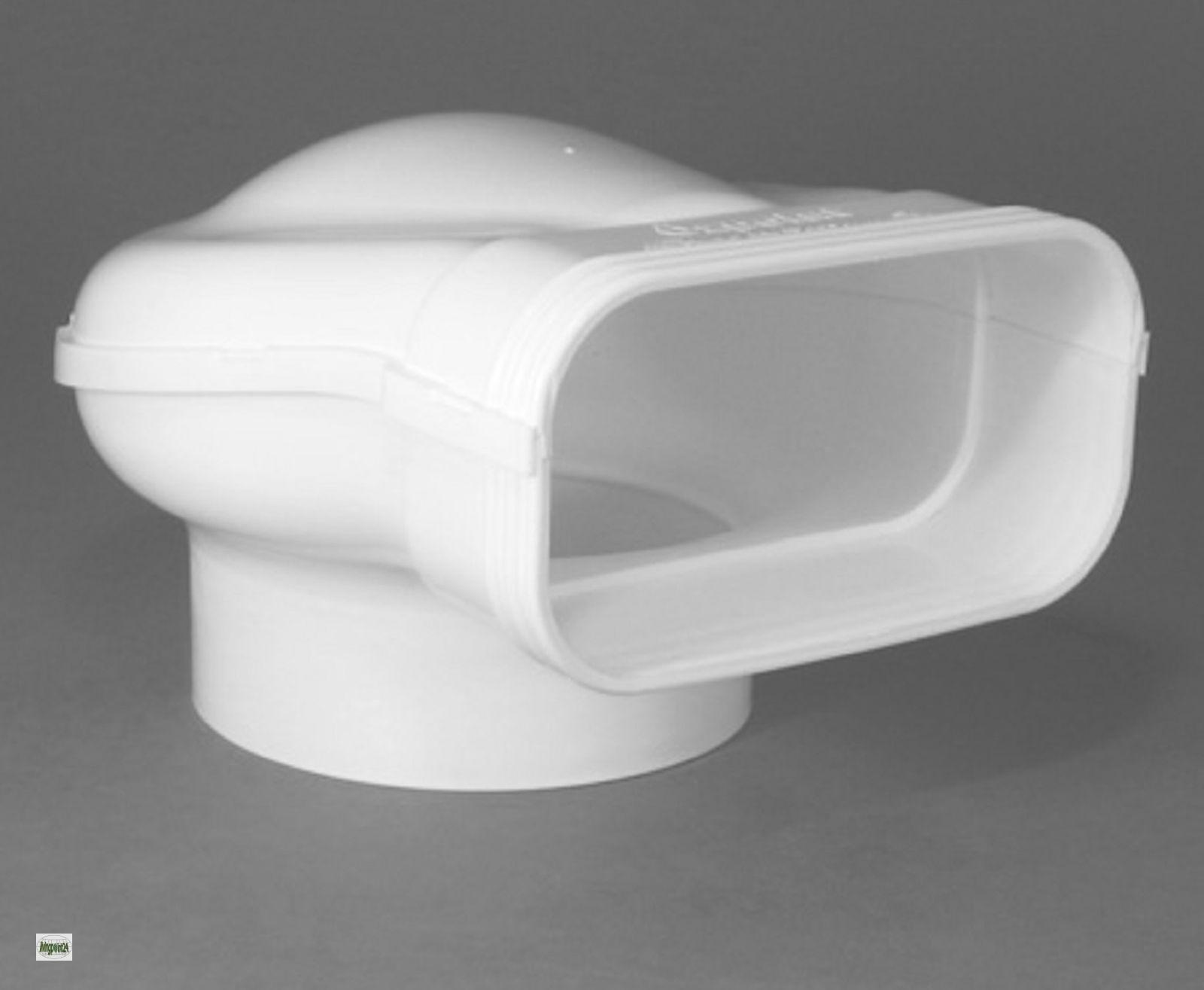 Umlenkstuck proguide flachkanal 150x70mm zu o125 for Flachkanal dunstabzug