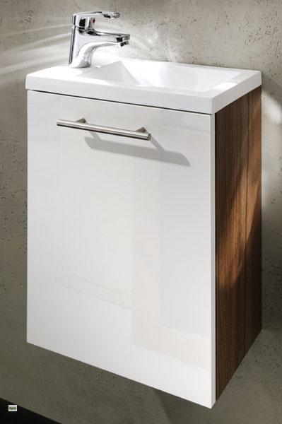 waschplatz mit waschbecken g ste wc wb unterschrank waschbeckenschrank 5822 ebay. Black Bedroom Furniture Sets. Home Design Ideas