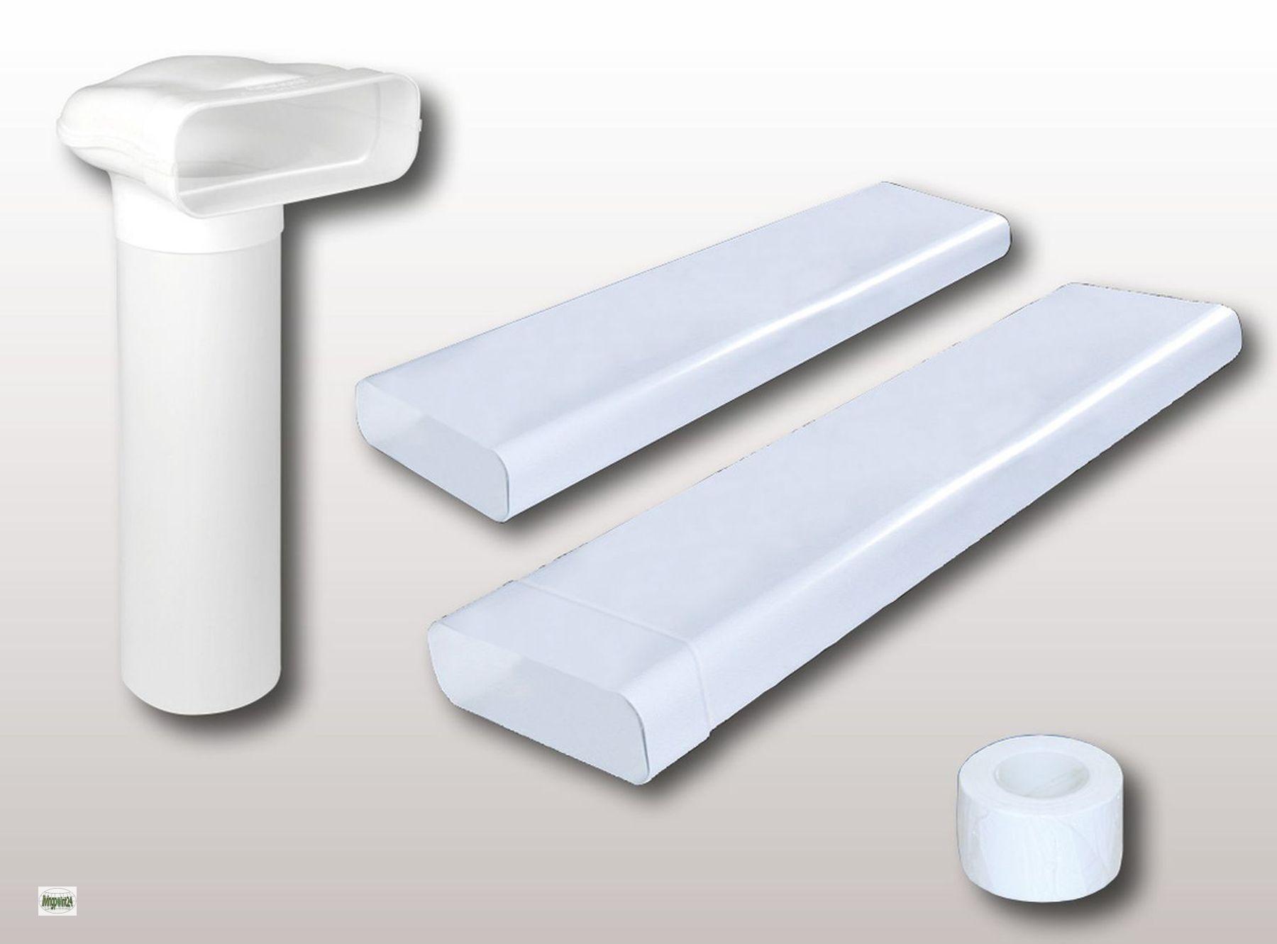 power 150 conducto plano set 230x80mm aire de salida cocina parte 4 tuber a ebay. Black Bedroom Furniture Sets. Home Design Ideas