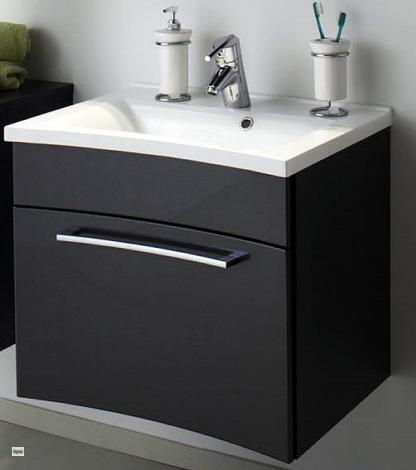 waschplatz inkl waschbecken 61x54x46cm waschtisch g ste wc. Black Bedroom Furniture Sets. Home Design Ideas