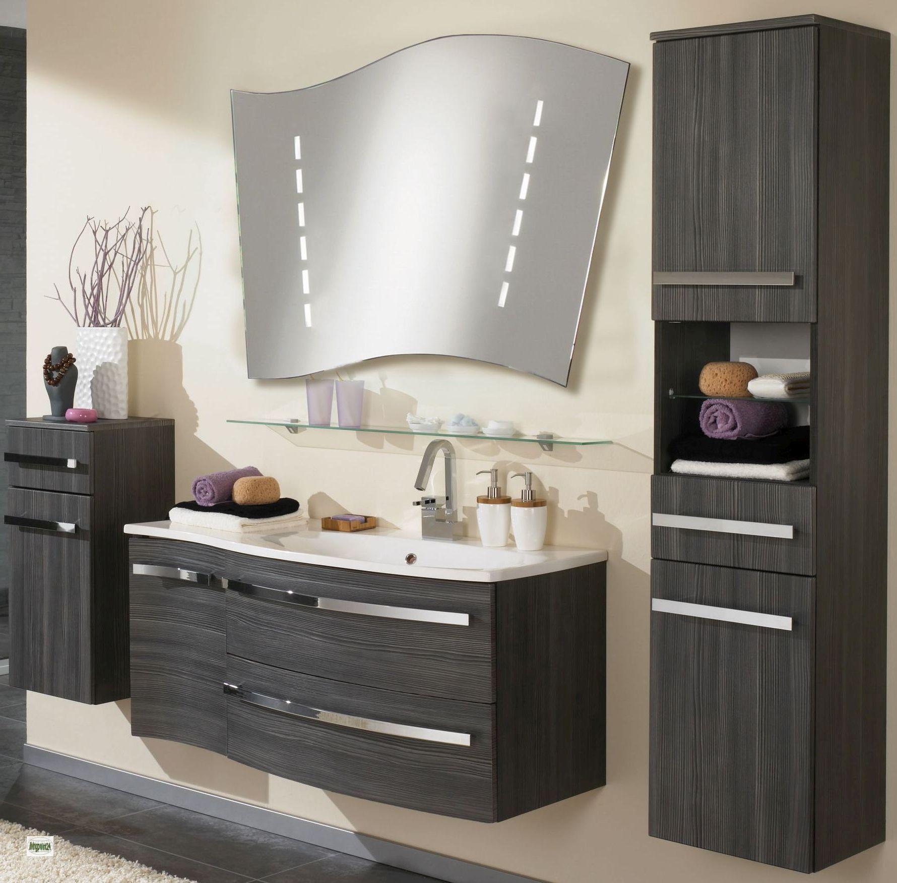 Mobili da bagno 5 parti specchio lavabo 110cm larghezza - Mobili bagno su ebay ...