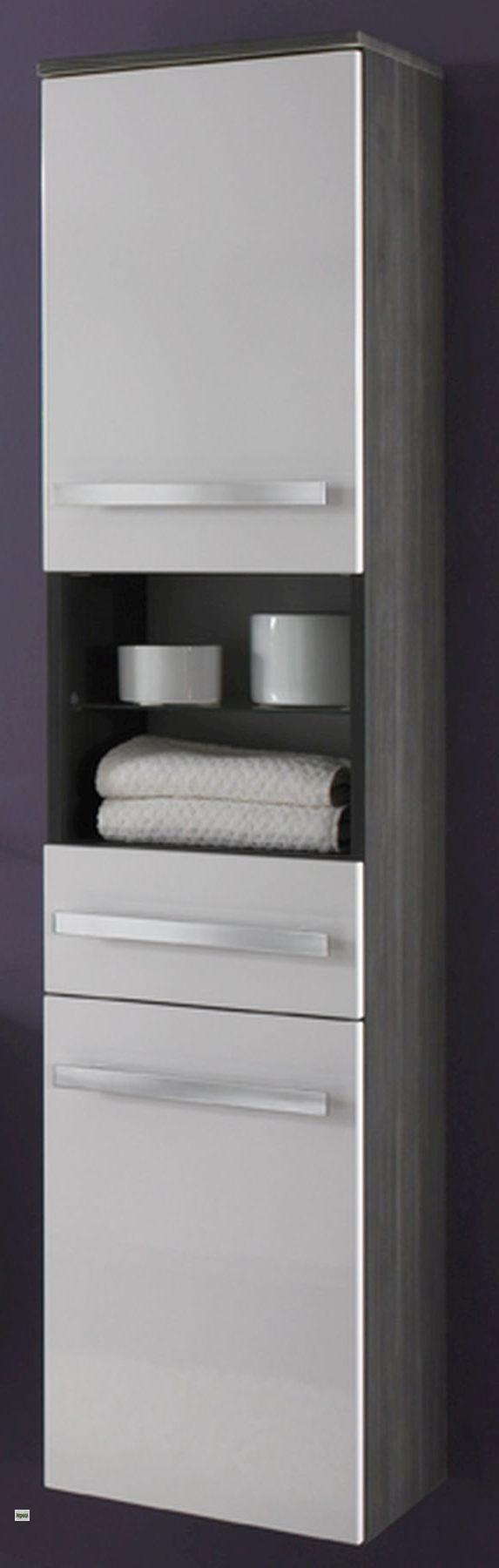 badm bel set 5 teile spiegel 2x14w waschbecken hochschrank unterschrank h ngend. Black Bedroom Furniture Sets. Home Design Ideas