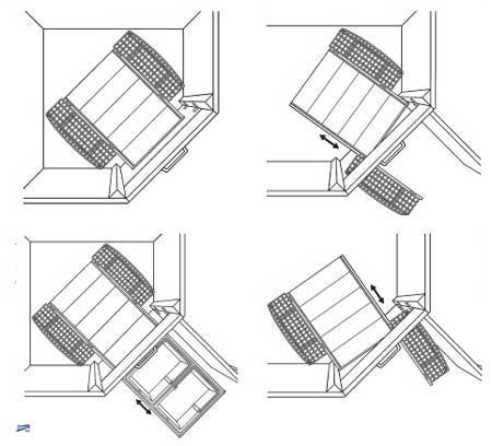 wesco cornemaster boy 2x16l m lleimer f r eckschrank k chen abfalleimer 40337 ebay. Black Bedroom Furniture Sets. Home Design Ideas