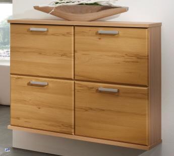 schuhschrank kernbuche nb h ngend 106x81x26cm schuhregal schuhkipper 1389 23 ebay. Black Bedroom Furniture Sets. Home Design Ideas