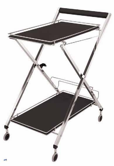 ital design servierwagen teewagen grillwagen beistellwagen flaschenhalter 82090 ebay. Black Bedroom Furniture Sets. Home Design Ideas