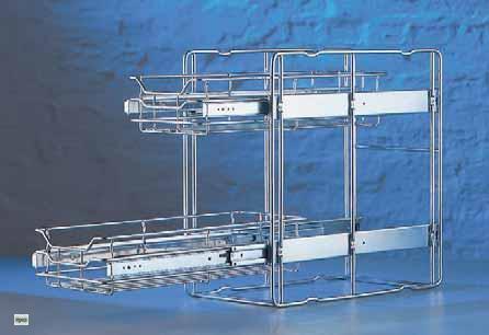 Wesco Quickbasket 45er Küchenschrank Auszug Teleskopauszug ...