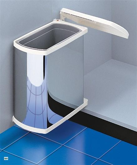 hailo uno abfalleimer k che edelstahl 18 liter abfallsammler m lleimer 43428 ebay. Black Bedroom Furniture Sets. Home Design Ideas