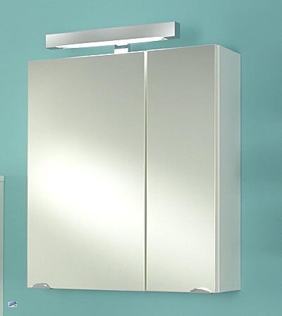 spiegelschrank mit led licht badspiegel 68x60x21. Black Bedroom Furniture Sets. Home Design Ideas