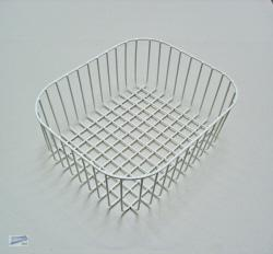 alveus geschirrkorb weiss 380x330x145mm abtropfkorb sp lkorb drahtkorb 1016104 ebay. Black Bedroom Furniture Sets. Home Design Ideas