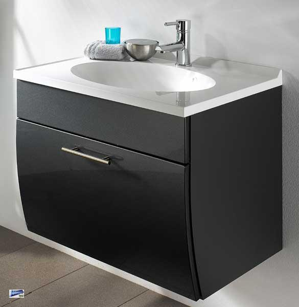 waschplatz 70x50x51cm inkl softeinzug und waschbecken waschtisch g ste wc 5601 ebay. Black Bedroom Furniture Sets. Home Design Ideas