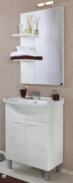 waschplatz g ste wc regal spiegel waschtisch badm bel badregal badm belset 5653 ebay. Black Bedroom Furniture Sets. Home Design Ideas