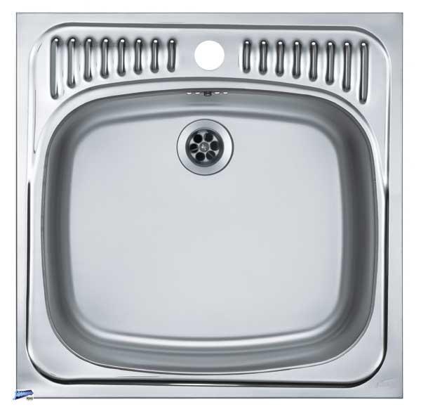 einbausp le edelstahl 1 becken sp le 465x465mm sp lbecken k chensp le 1037277 ebay. Black Bedroom Furniture Sets. Home Design Ideas