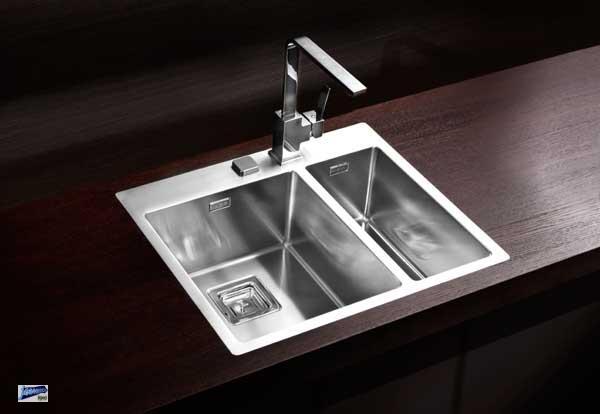 Spülbecken Edelstahl Quadratisch = einbauspüle edelstahlspüle stylux 20 küchenspüle inkl
