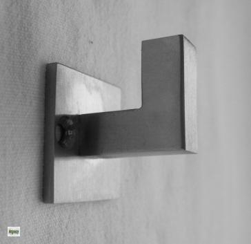 kleiderhaken mantelhaken garderobenhaken echt edelstahl matt geb rstet ebay. Black Bedroom Furniture Sets. Home Design Ideas