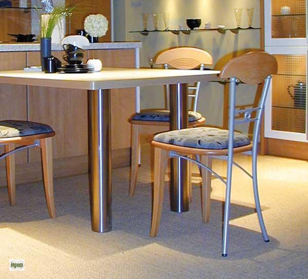 tischbeine edelstahl angebote auf waterige. Black Bedroom Furniture Sets. Home Design Ideas