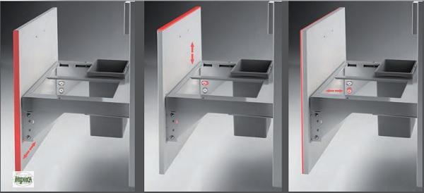 wesco pullboy premium abfalleimer 50er unterschrank frontblende m lleimer 40615 ebay. Black Bedroom Furniture Sets. Home Design Ideas