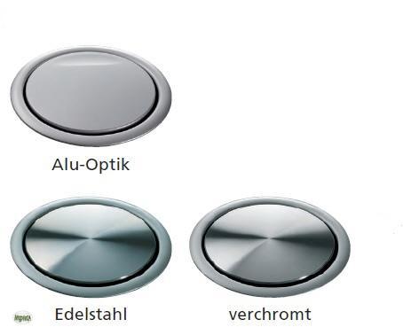 evoline schuko steckdose versenkbar energiebox alu optik einbausteckdose 32839 ebay. Black Bedroom Furniture Sets. Home Design Ideas