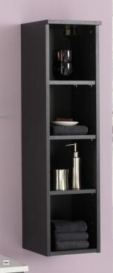 4 tlg badm belset waschplatz 60cm spiegel g ste wc h ngeschrank regal badm bel. Black Bedroom Furniture Sets. Home Design Ideas