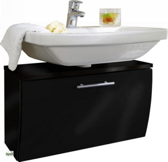 Unterschrank 70x40cm Waschbeckenunterschrank hängend Badschrank ... | {Badschrank hängend 43}