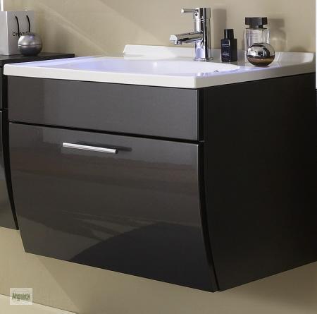 waschplatz 70x51x50cm waschtisch mit waschbecken badm bel unterschrank 5600 ebay. Black Bedroom Furniture Sets. Home Design Ideas