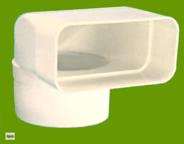 volumina 150 flachkanal umlenkst ck flach 150 abluftkanal 8cm stutzen 50307 ebay. Black Bedroom Furniture Sets. Home Design Ideas