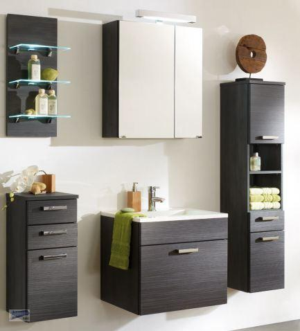 5 tlg badm bel set spiegelschrank waschplatz h ngeschrank. Black Bedroom Furniture Sets. Home Design Ideas