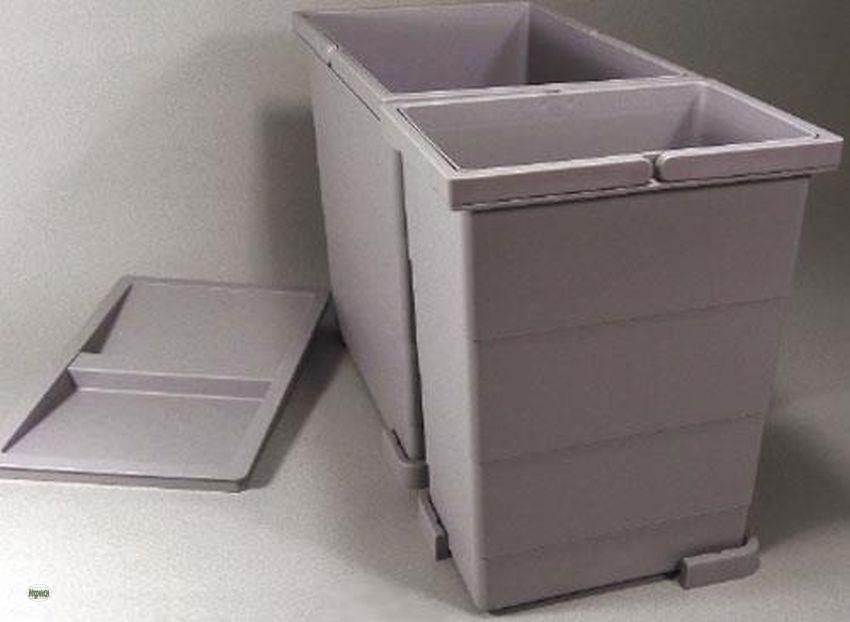 Küchen Schubladen Abfallsammler H 30Cm Einbau Mülleimer 18L