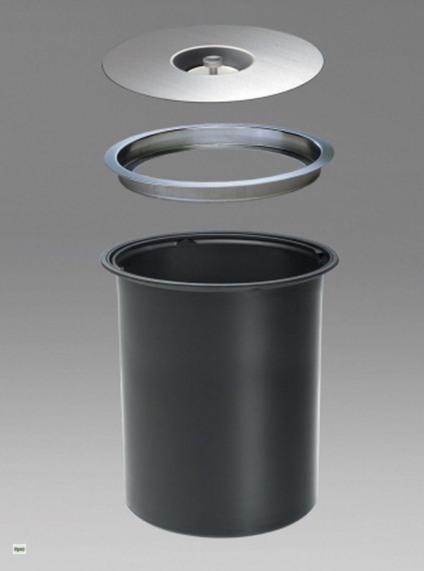 wesco ergomaster küchen bio mülleimer 11 liter arbeitsplatten