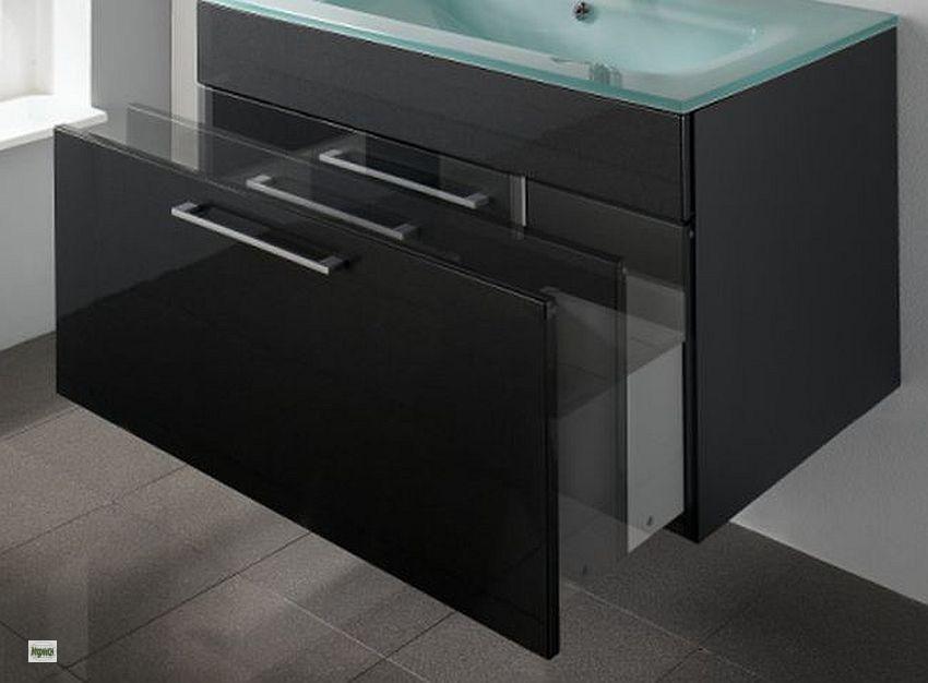 badm bel set komplett 5tlg waschplatz 90cm softeinzug spiegelschrank licht 5002 ebay. Black Bedroom Furniture Sets. Home Design Ideas