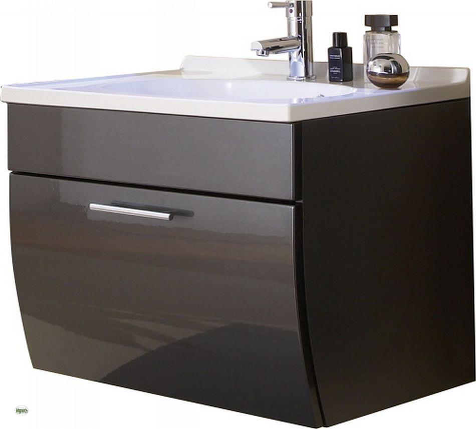waschplatz 70cm waschbecken waschtisch mit unterschrank badm bel g ste bad 5600 ebay. Black Bedroom Furniture Sets. Home Design Ideas