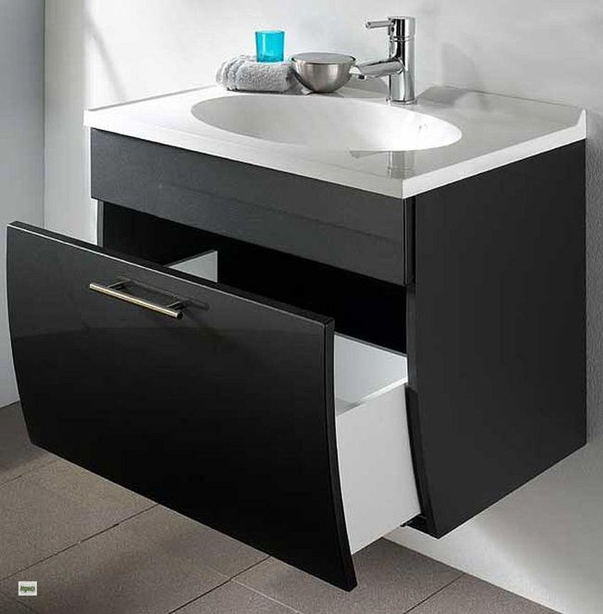 waschplatz 70cm softeinzug waschtisch unterschrank g ste bad waschbecken 5601 ebay. Black Bedroom Furniture Sets. Home Design Ideas