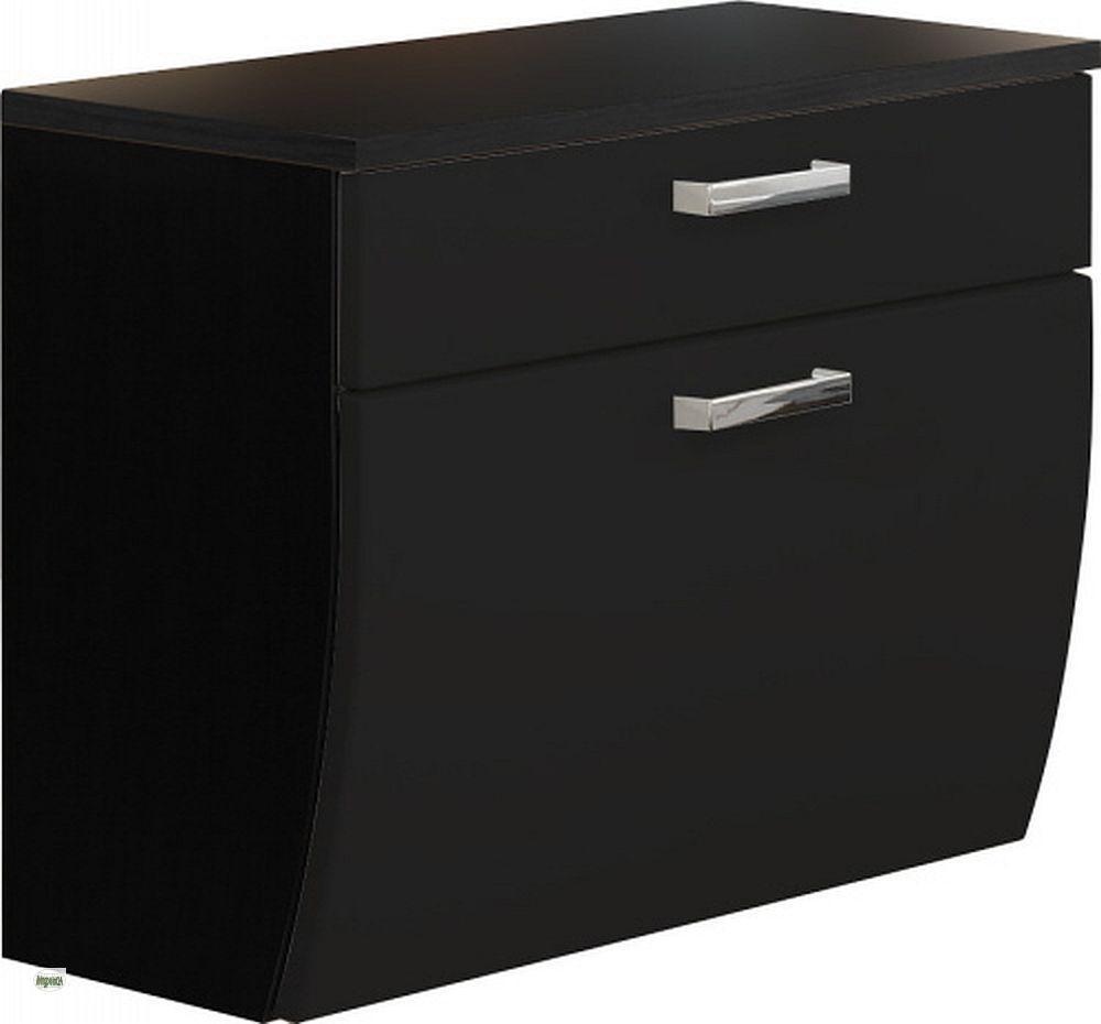 badezimmer unterschrank 70cm badschrank h ngend badm bel badezimmerschrank 5611 ebay. Black Bedroom Furniture Sets. Home Design Ideas