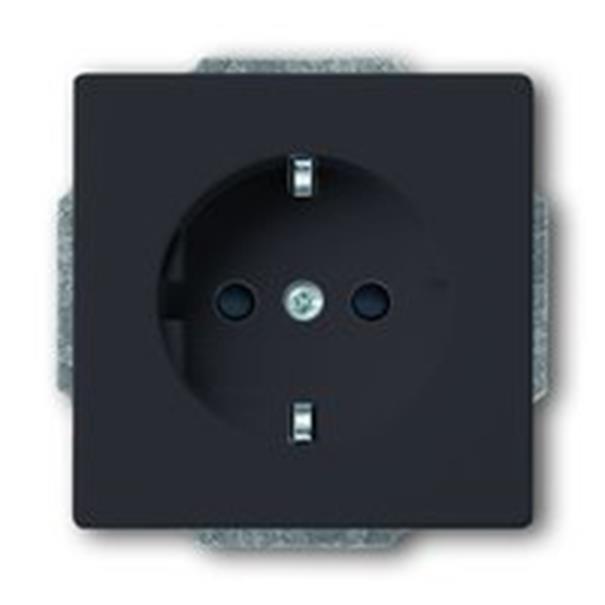 busch j ger carat 20 euc 81 steckdose anthrazit ebay. Black Bedroom Furniture Sets. Home Design Ideas