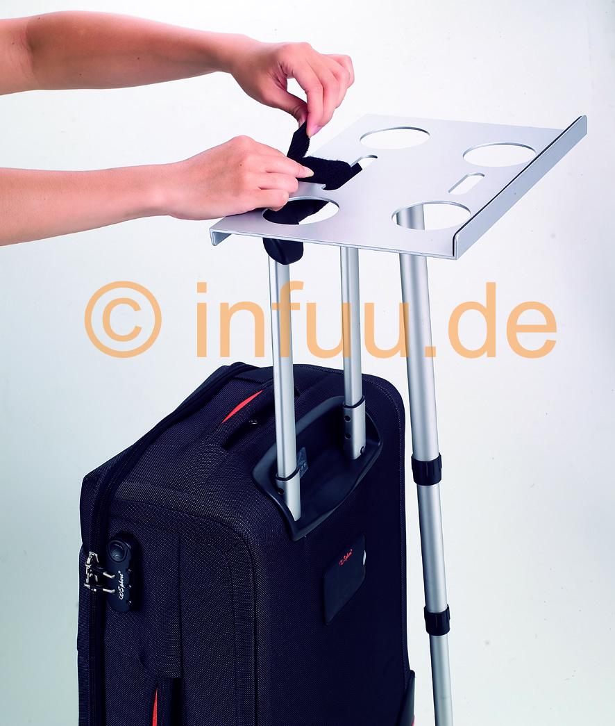koffer notebook halterung tisch f r laptop netbook ebay. Black Bedroom Furniture Sets. Home Design Ideas