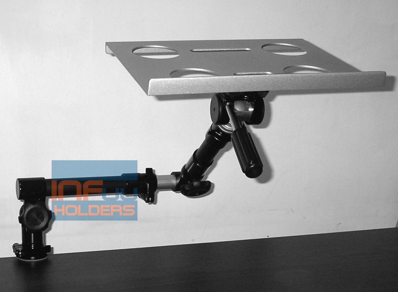 notebook halterung macbook laptop kamera stativ arm home office 005 hp acer dell ebay. Black Bedroom Furniture Sets. Home Design Ideas