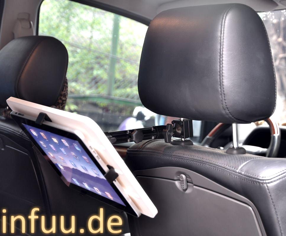 ipad 1 2 3 4 air galaxy tab note pro tablet pc kfz auto halterung f r kopfst tze ebay. Black Bedroom Furniture Sets. Home Design Ideas