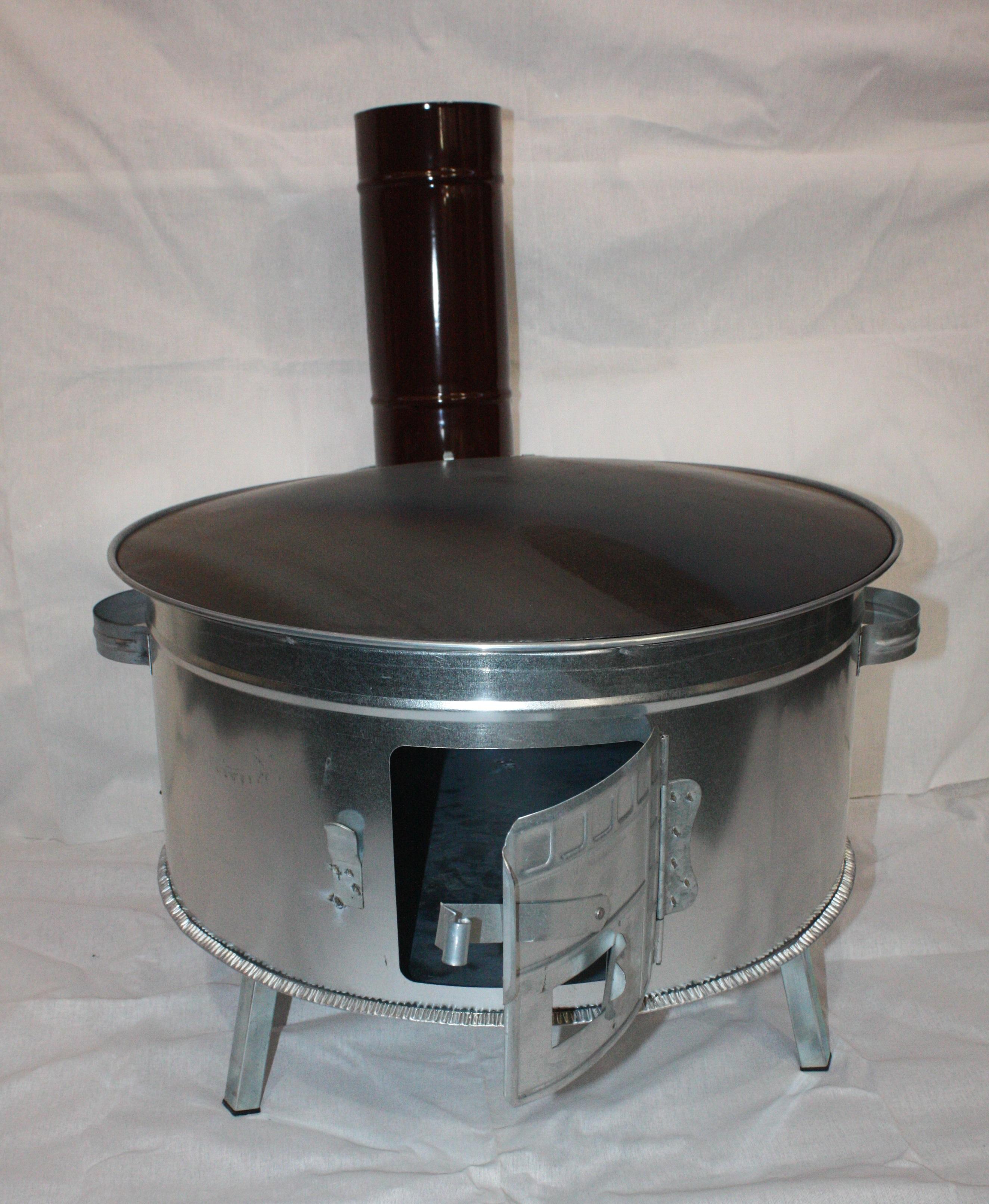 Holzofen zum backen braten grillen gozleme katmer for Mikrowelle zum backen und grillen