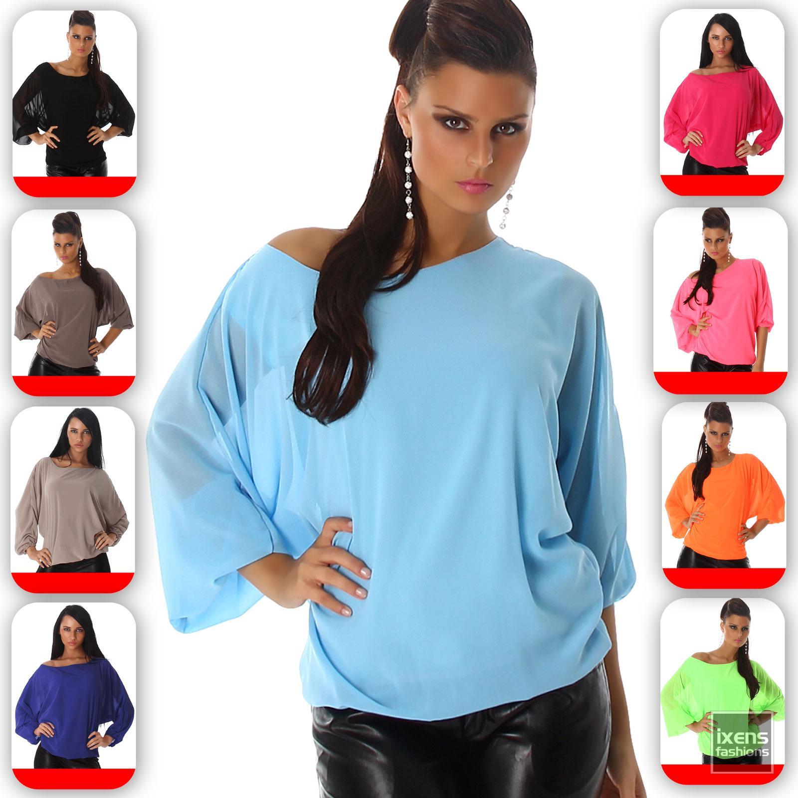 damen top shirt langarmshirt bluse oberteil sweatshirt. Black Bedroom Furniture Sets. Home Design Ideas