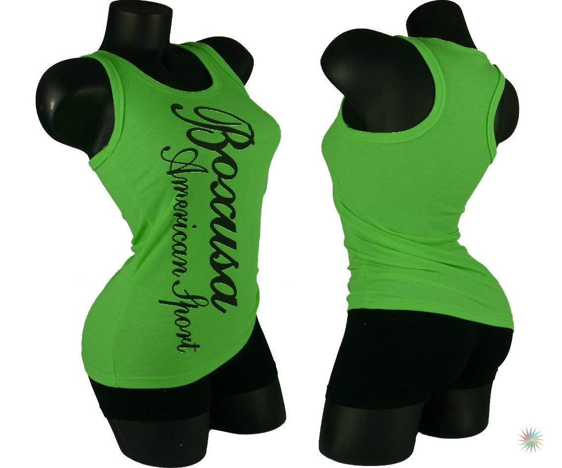 sexy damen ripp t shirt tank top tr ger oberteil neon. Black Bedroom Furniture Sets. Home Design Ideas