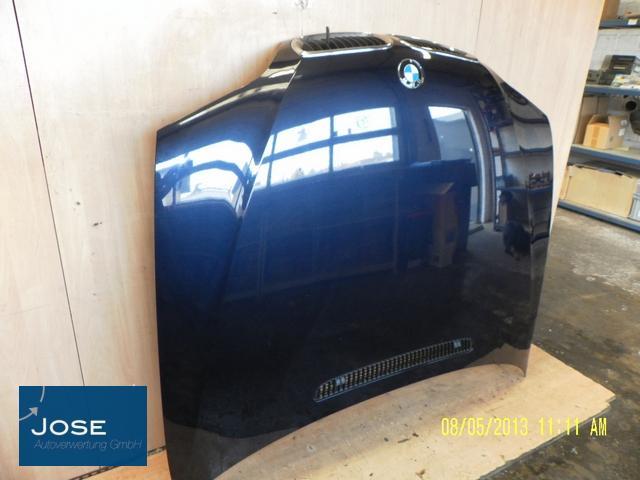 motorhaube blau bmw 3er 346l e46 318i touring orientblau. Black Bedroom Furniture Sets. Home Design Ideas